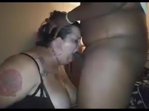 Face Fucking A Freaky BBW & Cumshot