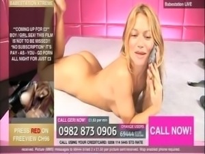 BS - Geri - strips naked from panties, fishnets & heels