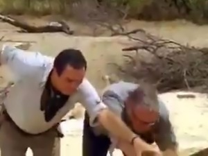 Funny moving sands