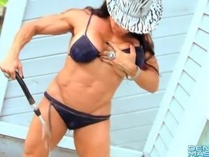 Denise Masino - Denise Country Video - Female Bodybuilder