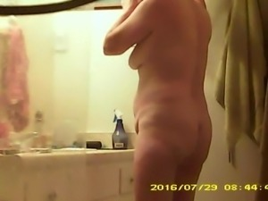 getting naked for shower
