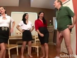 3 Girls Ballbust