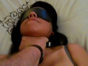 Submissive Asian Wife Experiencing Hypoxyphilia