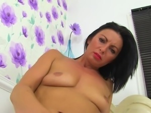 Posh nurse MILF with hungry holes