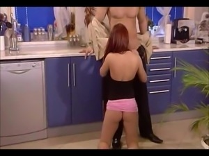 German Redhead Kitchen Fuck