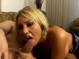 ass fucked slut with cum moustache