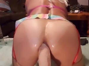 Dildo huge anal with gape