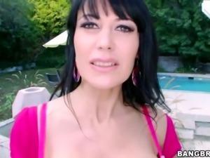 Busty MILF Eva Karera Loves Big Black Cock