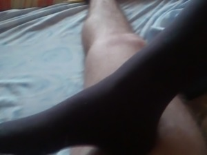 Socks Footjob