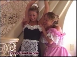 sexy and ticklish french maid