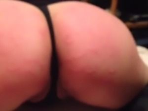 Iphone video Milf chew toy ass spank