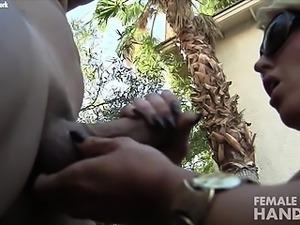 Alura Jenson Gives A Hand Job