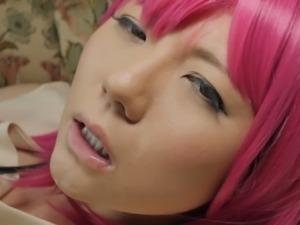 cute Japanese cosplayer