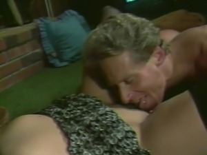 Retro adventure of Anika La Rue who knows how to ride the dick