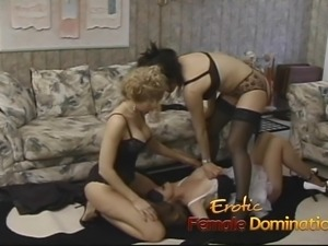 Three stunning babes enjoy licking their dripping wet pink