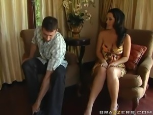 Brunette Sluts Jayden and Jenaveve Riding Two Cocks in Foursome