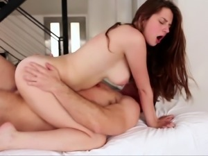 Drilling his horny stepdaughter