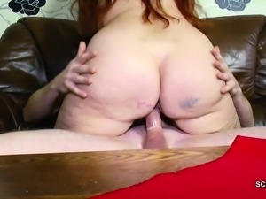 German Young Man Seduce Step-Mom to get First Fuck