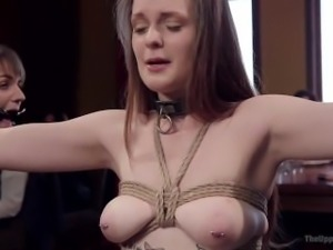 Innocent Girl Turned Anal BDSM Whore