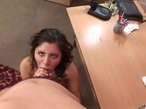 Sativa Rose gets a steamy asslick then a hardcore doggystyle ride