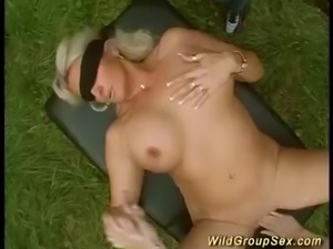 german outdoor groupsex party orgy
