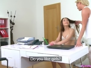 Cristal wanted to hire a super sexy model for her lingerie collection. The...