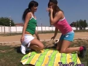 Sharon lee lesbian Sporty teenagers