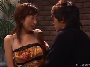 Blindfolded cutie from Japan getting attacked by the horny guys