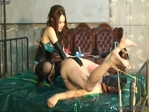 Japanese Femdom Kira Anal Fist and Facesitting
