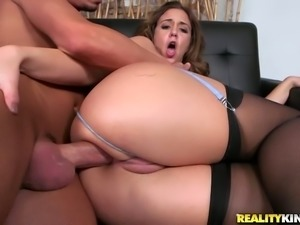 Fat ass hottie with killer thighs always wants to fuck