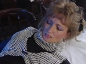 German Milf Takes it in a Restaurant