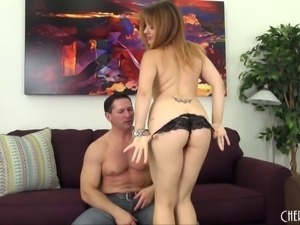 Nice ass milf moans in ecstasy while experiences a doggystyle pounding