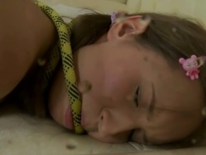 Russian Teen Bondaged And Teased