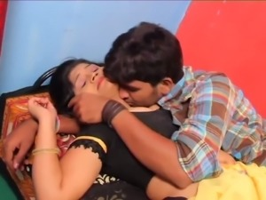 Lovely Indian milf housewife is seduced by a young man