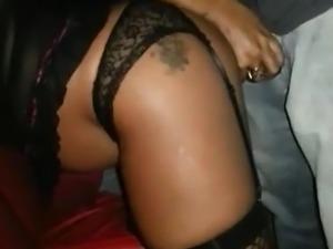 Brazilian Hotwife Sucks and Fucks in a Porn Cinema (Cuckold)