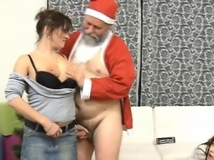 Small young girl experiences hardcore fucking by old pecker
