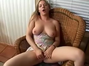 Haley Scott moans loudly while fingering her sweet cunt