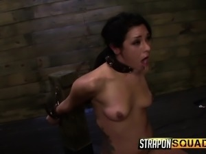 Isa Mendez, Abbi Roads, Lexy Villa, and Brooklyn Daniels go all out in a...