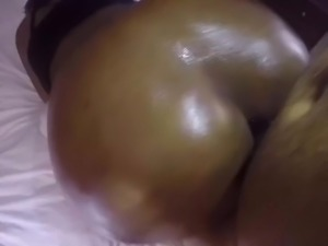 Phat Ass Oiled and Fucked