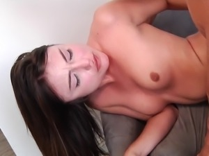Teen likes the older man and his big cock that fucks her hard