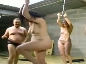 Awesome BDSM and bondage games with my German wife