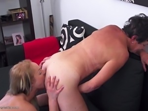 Mature moms teaching daughters lesbian sex