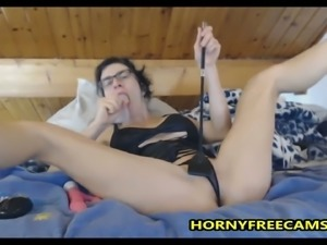 French Maid Loves Deepthroat And Pussy Fuck