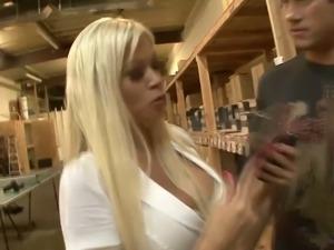 Addicted to hardcore sex Nikita Von James enjoys having crazy sex