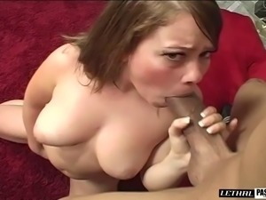 Big tits diva seductively throbbed hardcore missionary