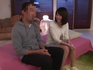 Another Japanese maid wants to spread her legs for the penis