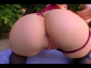 Krystal Jordan shakes her booty and rides cock