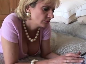 Unfaithful british milf lady sonia pops out her large boobs