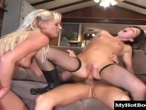 Pigtails babe in miniskirt giving massive python superb blowjob