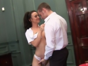 Hot-looking MILF easily handles another dose of the anal drilling